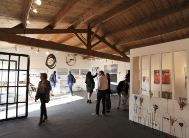 Inauguration de la galerie d'art d'ARS en Ré